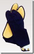 ゴム底付き足袋(紺)