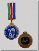 白バイ大会メダル